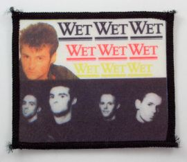 Wet Wet Wet - 'Marti and Group' Printed Patch